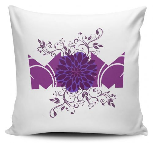 Floral Mam Flower Lovely Novelty Cushion Cover